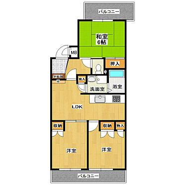 マンション(建物一部)-神戸市須磨区禅昌寺町1丁目 間取り