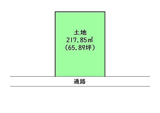 土地-多賀城市伝上山3丁目 区画図