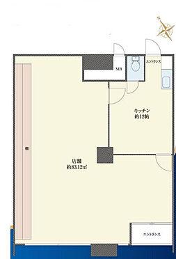 店舗事務所(建物一部)-武蔵野市吉祥寺北町3丁目 間取り