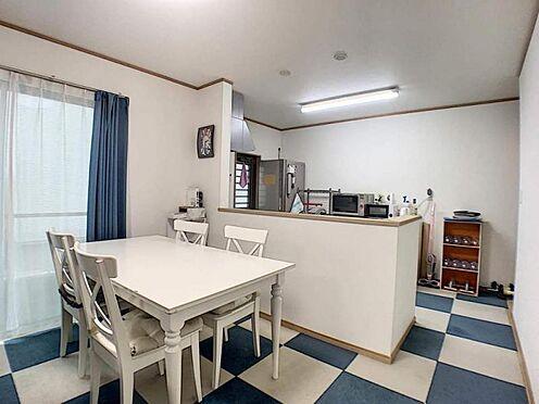 中古一戸建て-名古屋市守山区百合が丘 人気のカウンターキッチンで、お料理しながらお部屋を見渡せます。