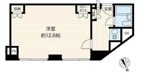 中古マンション-渋谷区代々木2丁目 間取り