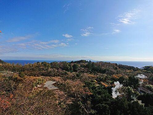 中古マンション-賀茂郡東伊豆町奈良本 お部屋から東方面の素晴らしい眺めです。