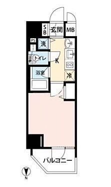 区分マンション-大阪市中央区南新町2丁目 シンプルな単身者向け1K