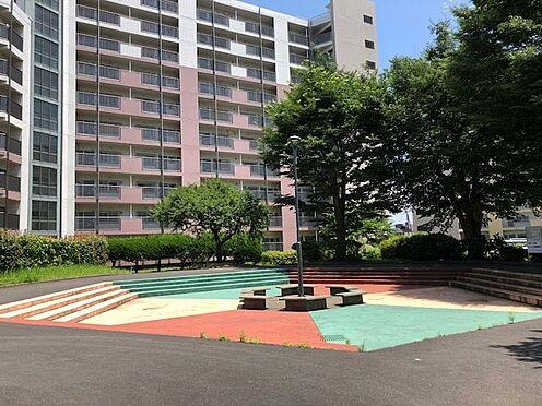 中古マンション-横浜市戸塚区深谷町 ゆとりのある敷地共用部