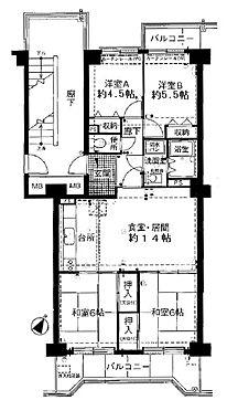 マンション(建物一部)-神戸市北区北五葉2丁目 収納を全室に設けるなどニーズに応える暮らしやすい間取り