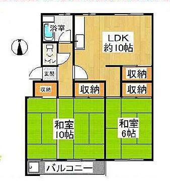 マンション(建物一部)-京都市左京区岩倉中在地町 間取り