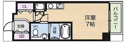 マンション(建物一部)-大阪市天王寺区玉造元町 間取り