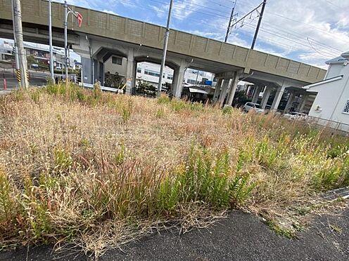 土地-豊田市平芝町2丁目 前面道路は一方通行のため車通りが少ない安心のエリア