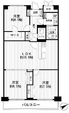 中古マンション-港区芝浦4丁目 80.40m2の3LDK