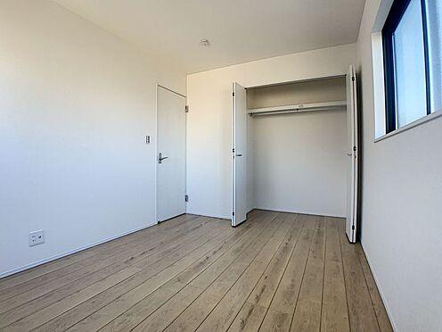 戸建賃貸-西尾市寺津町寺後 収納完備でお部屋を広く使用できます。(同仕様)