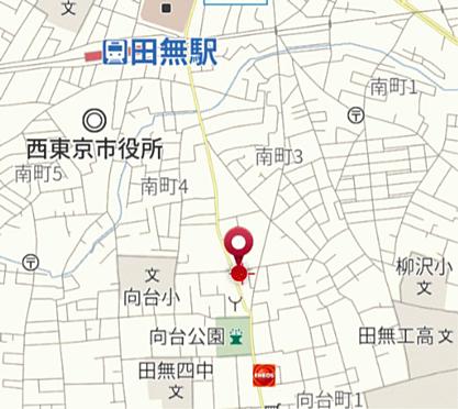 マンション(建物一部)-西東京市向台町1丁目 地図