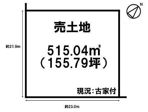 土地-桜井市大字桜井 区画図