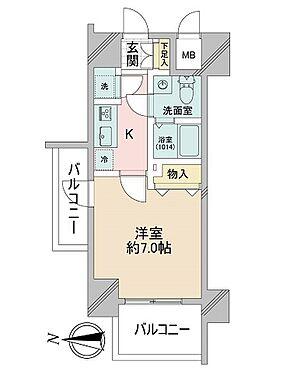 マンション(建物一部)-大阪市都島区中野町1丁目 最上階の北西角部屋