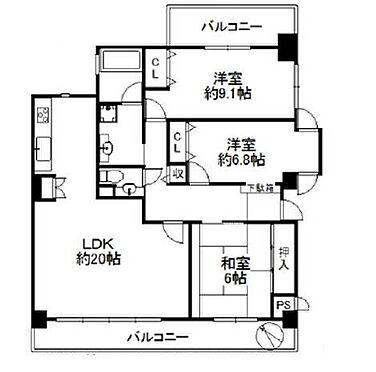 マンション(建物一部)-富田林市須賀1丁目 間取り