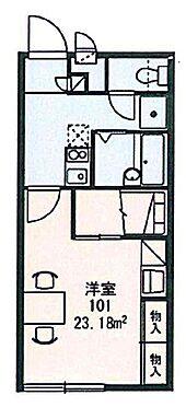 アパート-松阪市清生町 間取り