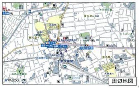 ビル(建物全部)-練馬区東大泉4丁目 地図