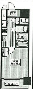 区分マンション-大阪市港区弁天5丁目 間取り