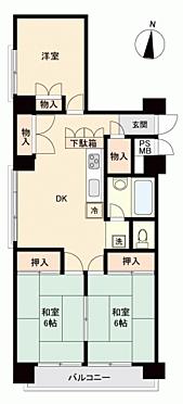 マンション(建物一部)-福岡市南区那の川1丁目 間取り