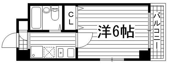 マンション(建物一部)-神戸市兵庫区本町1丁目 単身者向けのシンプルな1K