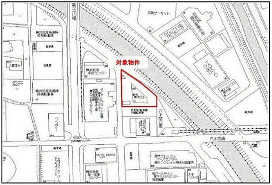 ビル(建物全部)-厚木市酒井 地図