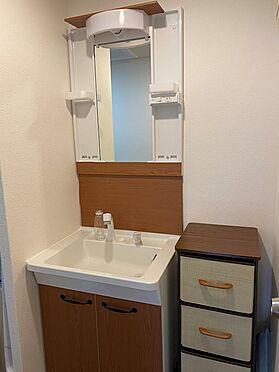 区分マンション-八王子市南大沢4丁目 洗面台は新規設置