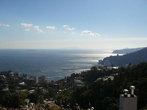 リゾートマンション-熱海市熱海 27階からの眺望です。この景色を見ただけでも熱海に来た甲斐があります。