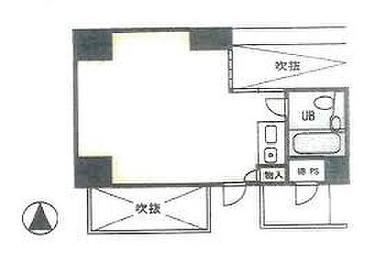 区分マンション-大阪市中央区南船場4丁目 シンプルなワンルーム