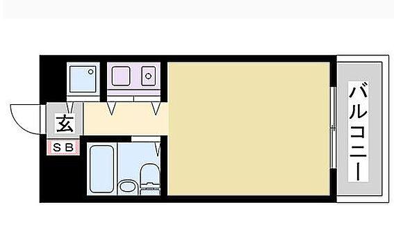 マンション(建物一部)-姫路市東延末3丁目 間取り
