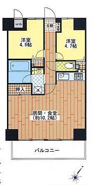 マンション(建物一部)-神戸市長田区六番町8丁目 間取り