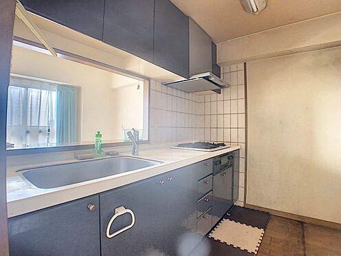 中古マンション-名古屋市守山区緑ヶ丘 便利な3口コンロです。