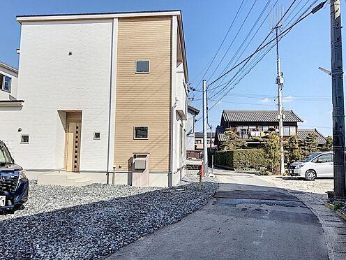 新築一戸建て-知多郡東浦町大字石浜字須賀 南東側前面道路に約18.9m接道しています