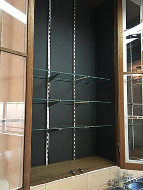 マンション(建物一部)-高崎市柳川町 キッチン棚