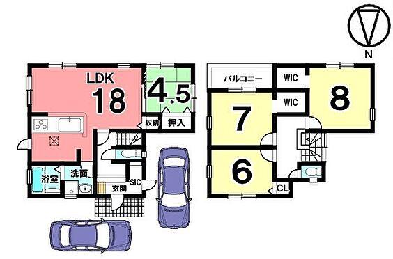 戸建賃貸-磯城郡田原本町大字阪手 1階は和室と合わせて22.5帖の大きなお部屋としてもご利用頂けます。キッチン・洗面など水まわりを一か所に集めた便利な間取りです。