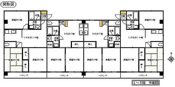 マンション(建物全部)-名古屋市名東区香南2丁目 間取り