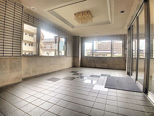 区分マンション-福岡市城南区別府6丁目 広々としたロビーです。