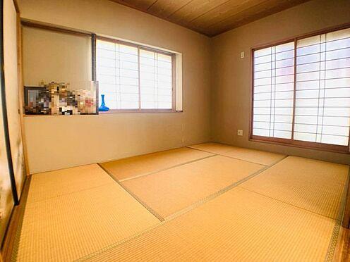 戸建賃貸-名古屋市千種区宮根台1丁目 リビング横の和室は客間としてもご利用いただけます!