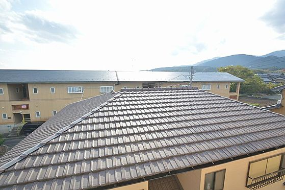 アパート-いなべ市大安町石榑南 平成28年・屋根部分防水塗装工事実施済