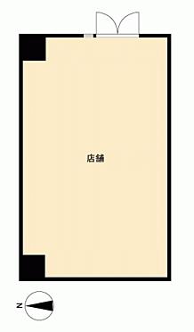 店舗事務所(建物一部)-墨田区亀沢3丁目 間取り