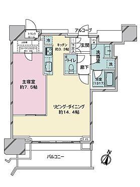 中古マンション-渋谷区神宮前2丁目 間取り