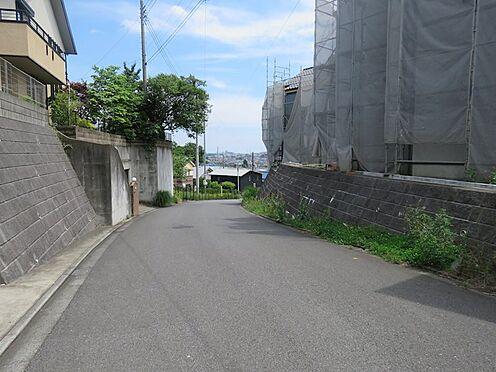 新築一戸建て-町田市小山町 東側の道路