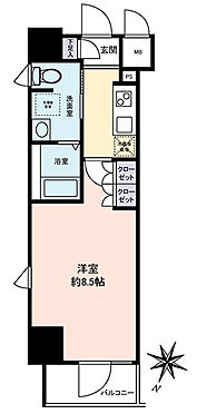 マンション(建物一部)-板橋区大和町 間取り