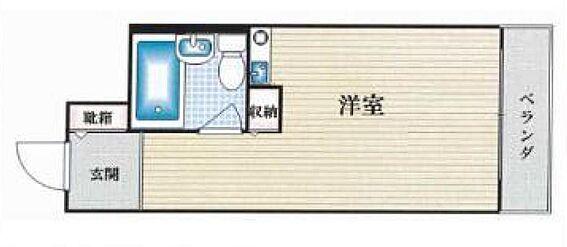 マンション(建物一部)-大阪市城東区成育3丁目 ひとり暮らしにはちょうどいい収納です。