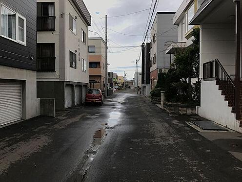 アパート-札幌市東区北三十一条東9丁目 前面道路
