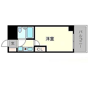 マンション(建物一部)-京都市右京区西院清水町 ひとり暮らしに便利な間取り