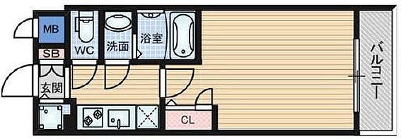 マンション(建物一部)-大阪市中央区糸屋町1丁目 間取り