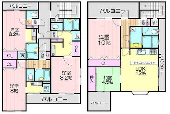 マンション(建物全部)-神戸市須磨区大田町7丁目 間取り