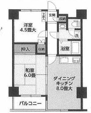 マンション(建物一部)-板橋区中丸町 間取り