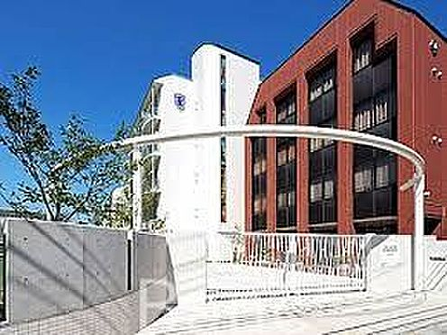 中古マンション-横浜市鶴見区上の宮2丁目 私立英理女子学院高校 徒歩18分。 1380m