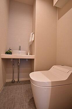 中古マンション-港区東新橋1丁目 手洗付タンクレストイレ