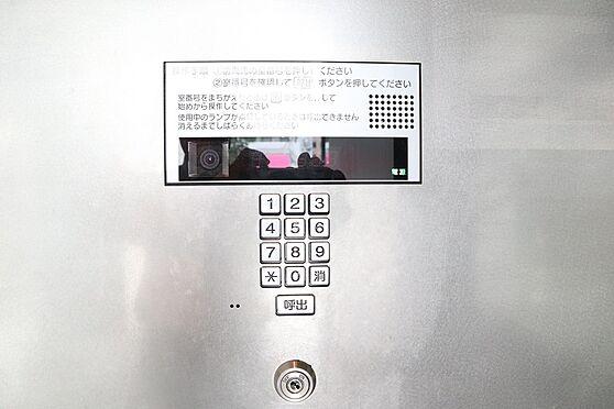 区分マンション-福岡市中央区平尾3丁目 カメラ付きオートロックインターホン
